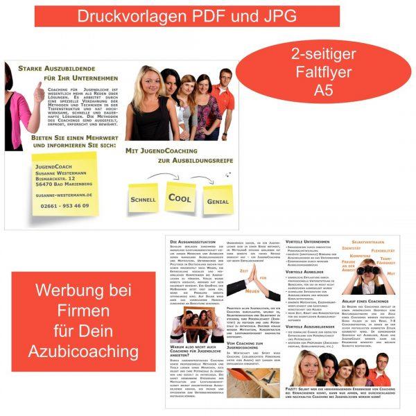 Coaching für Auszubildende Flyer